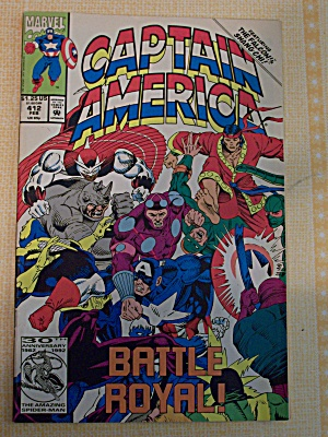 Captain America, Vol. 1, No. 412, February 1993