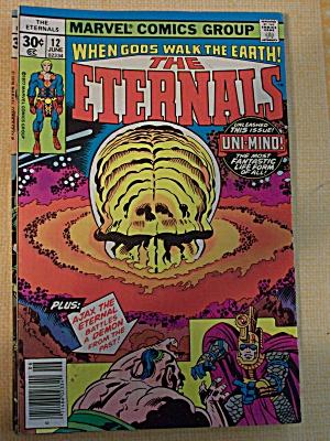 The Eternals, Vol. 1, No. 12, June 1977 (Image1)