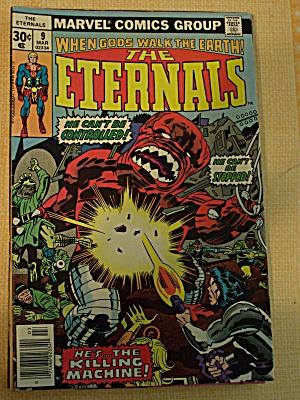 The Eternals, Vol. 1, No. 9, March 1976 (Image1)