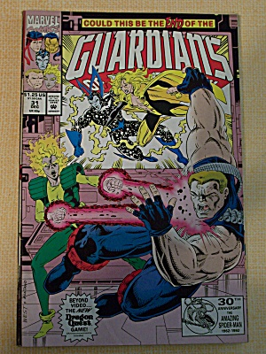 Guardians Of The Galaxy, Vol. 1, No. 31, December 1992 (Image1)
