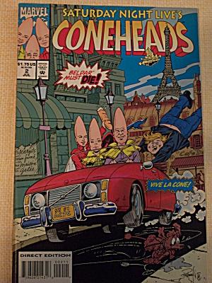 Coneheads, Vol. 1, No. 2, July 1994 (Image1)