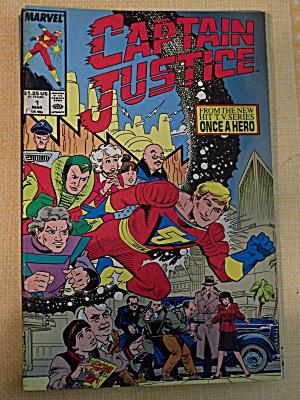 Captain Justice, Vol. 1, No. 1, March 1988 (Image1)