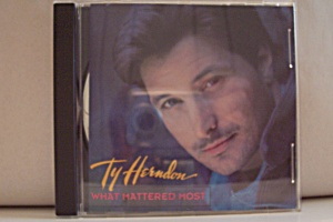 Ty Herndon, What Mattered Most (Image1)