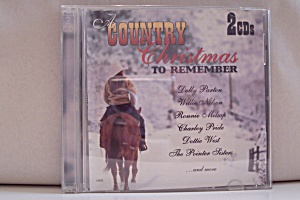 A Country Christmas To Remember, Various Country Artist