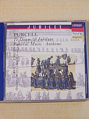 Purcell  Te Deum & Jubilate (Image1)