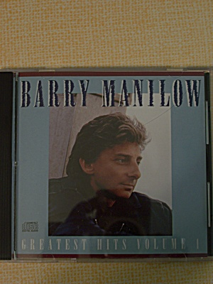 Barry Manilow  Greatest Hits Volume 1 (Image1)