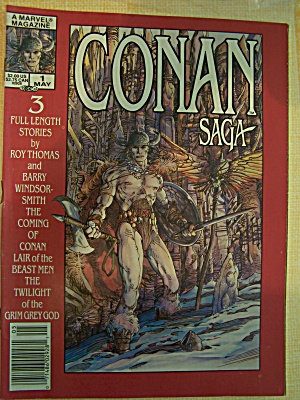 Conan Saga, Vol. 1, No. 1, May 1987 (Image1)
