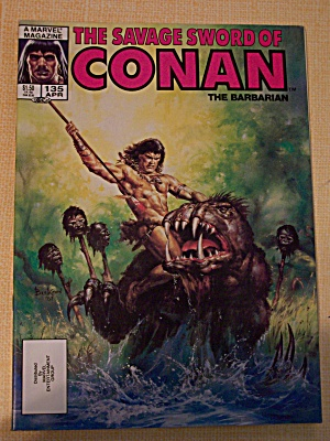 The Savage Sword Of Conan The Barbarian Vol.1, No. 135 (Image1)