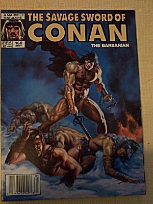 The Savage Sword Of Conan The Barbarian Vol. 1, No. 160 (Image1)