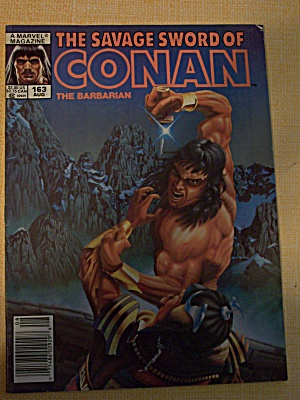 The Savage Sword Of Conan The Barbarian Vol. 1, No. 163