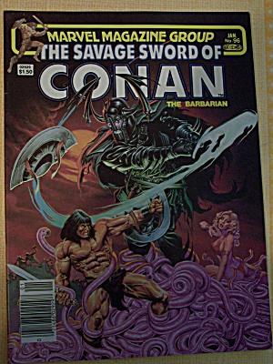 The Savage Sword Of Conan The Barbarian Vol. 1, No. 96 (Image1)