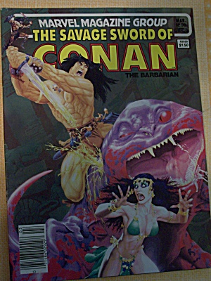 The Savage Sword Of Conan The Barbarian Vol. 1, No. 98