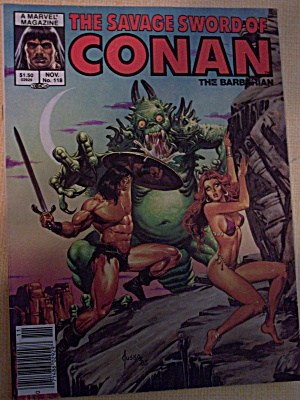 The Savage Sword Of Conan The Barbarian Vol. 1, No. 118