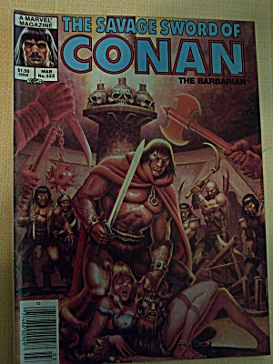 The Savage Sword Of Conan The Barbarian Vol. 1, No. 122