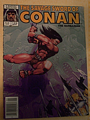 The Savage Sword Of Conan The Barbarian Vol. 1, No. 124