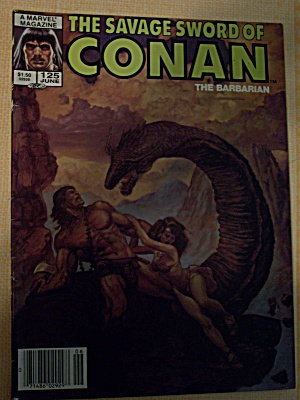 The Savage Sword Of Conan The Barbarian Vol. 1, No. 125