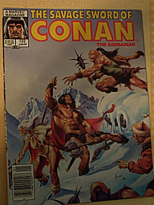 The Savage Sword Of Conan The Barbarian Vol. 1, No. 132