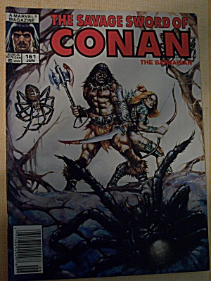 The Savage Sword Of Conan The Barbarian Vol. 1, No. 161