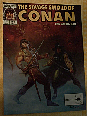 The Savage Sword Of Conan The Barbarian Vol. 1, No. 162
