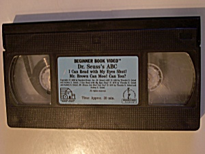 Beginner Book Video  -  Dr. Seuss's ABC (Image1)