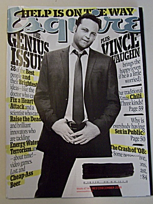 Esquire, Vol. 150, No. 6, December 2008 (Image1)