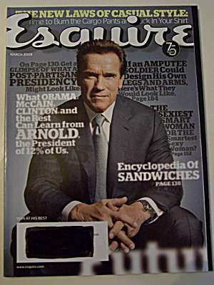 Esquire, Vol. 149, No. 3, March 2008 (Image1)