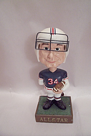 All Star Football Bobble Head #34