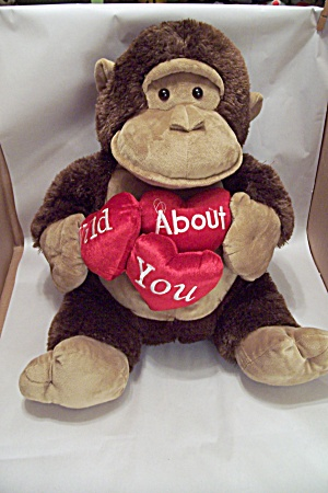 Wild About You Stuffed Monkey