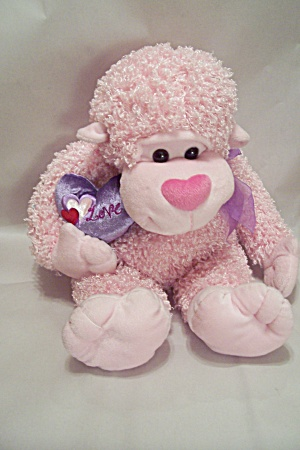 C ALTOY Pink & Purple Toy Stuffed Plush Monkey (Image1)