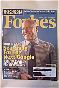 Forbes Magazine, Vol. 176, No. 4, September 5, 2005 (Image1)