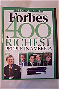 Forbes Magazine, Vol. 176, No. 7, October 10, 2005 (Image1)