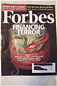 Forbes Magazine, Vol. 176, No. 8, October 17, 2005 (Image1)
