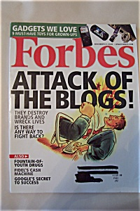 Forbes Magazine, Vol. 176, No. 10, November 14, 2005 (Image1)