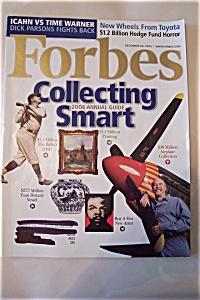 Forbes Magazine, Vol. 176, No. 13, December 26, 2005 (Image1)