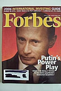 Forbes Magazine, Vol. 178, No. 2, July 24, 2006 (Image1)