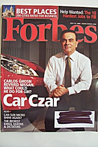 Forbes Magazine, Vol. 177, No. 11, May 22, 2006 (Image1)