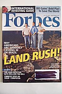 Forbes Magazine, Vol. 176, No. 2, July 25, 2005 (Image1)