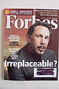 Forbes Magazine, Vol. 178, No. 3, August 14, 2006 (Image1)