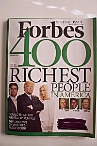 Forbes Magazine, Vol. 178, No. 7, October 9, 2006 (Image1)