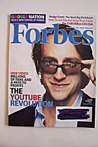 Forbes Magazine, Vol. 178, No. 8, October 16, 2006 (Image1)