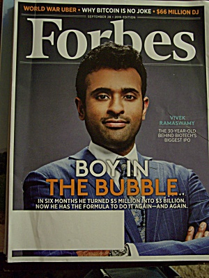 Forbes, Volume 196, No. 4, September 28, 2015 (Image1)