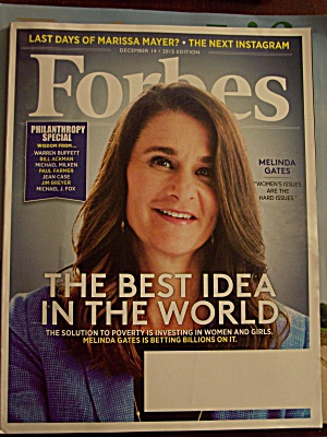 Forbes, Volume 196, No. 8, December 14, 2015
