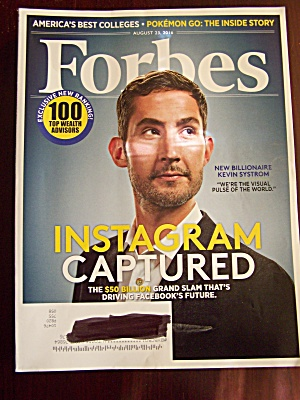 Forbes, Volume 198, No. 2, August 23, 2016 (Image1)