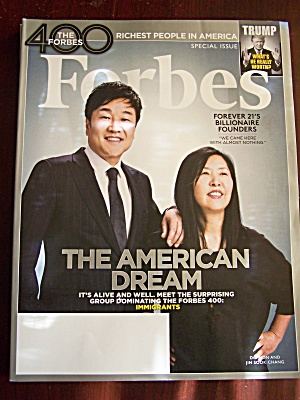 Forbes Special Issue, October 25, 2016