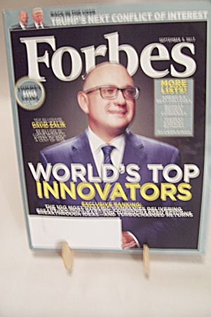 Forbes, Volume 200, No. 2, September 5, 2017