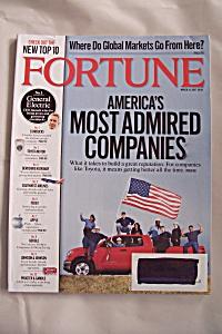 Fortune Magazine, Vol. 155, No. 5, March 19, 2007 (Image1)