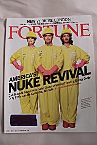 Fortune Magazine, Vol. 156, No. 3, August 6, 2007 (Image1)
