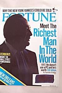 Fortune Magazine, Vol. 156, No. 4, August 20, 2007 (Image1)