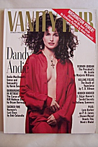Vanity Fair, Vol. 56, No. 3, March 1993