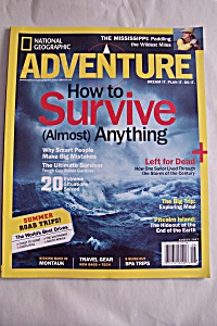 National Geographic Adventure, Vol.9,No.6, August 2007 (Image1)